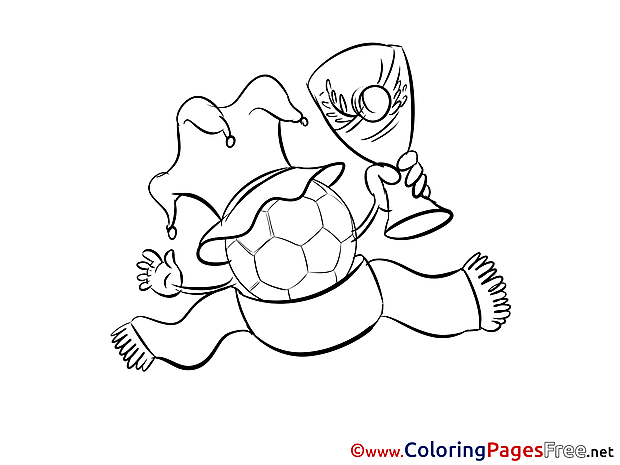 Sport Cup free Soccer Coloring Sheets