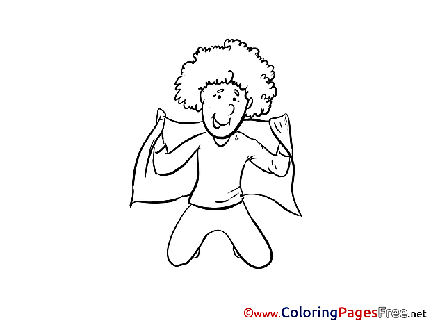 Team Albania Supporter download Soccer Coloring Pages
