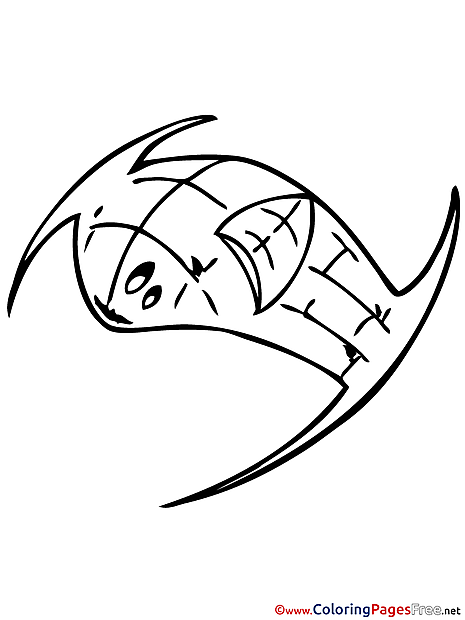 Space Ship for free Coloring Pages download