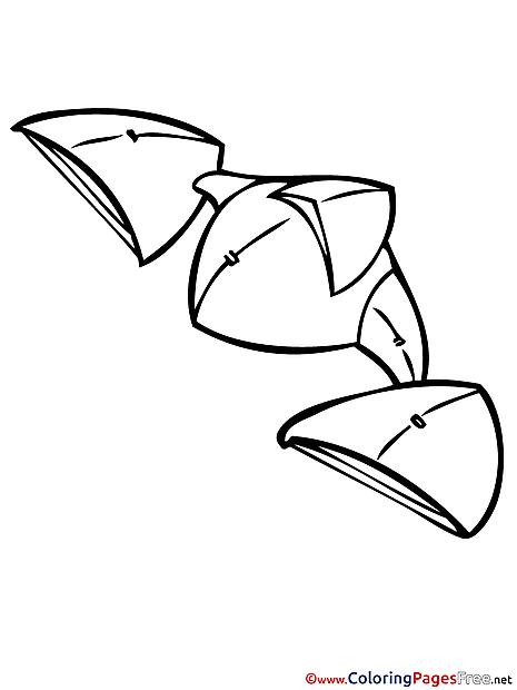 Space Ship Kids free Coloring Page
