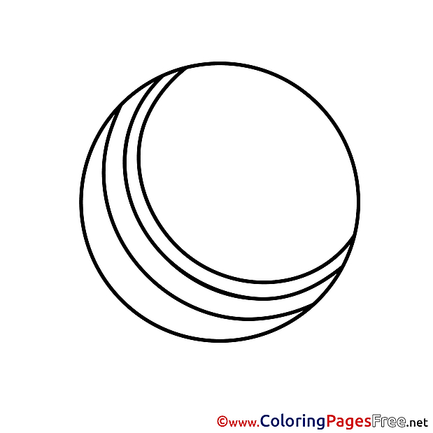 For free Ball Coloring Pages download