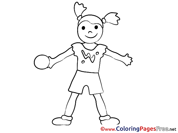 Game for free Coloring Pages Ball download