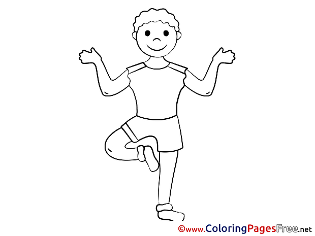 Meditation download printable Coloring Pages
