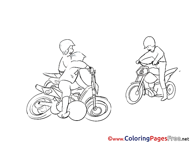 Motoball for free Coloring Pages download
