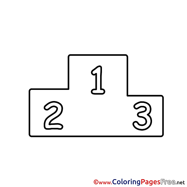 Places Kids free Coloring Page