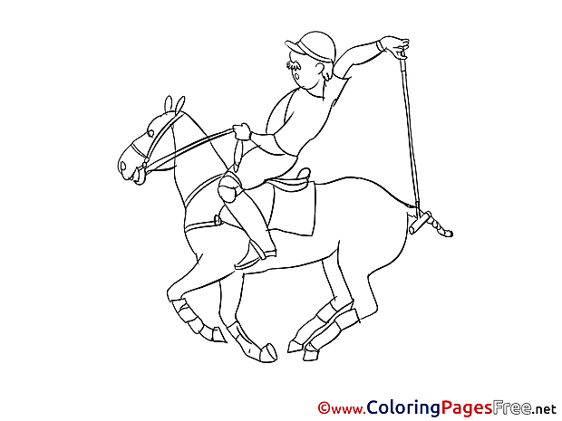 Polo Coloring Pages for free