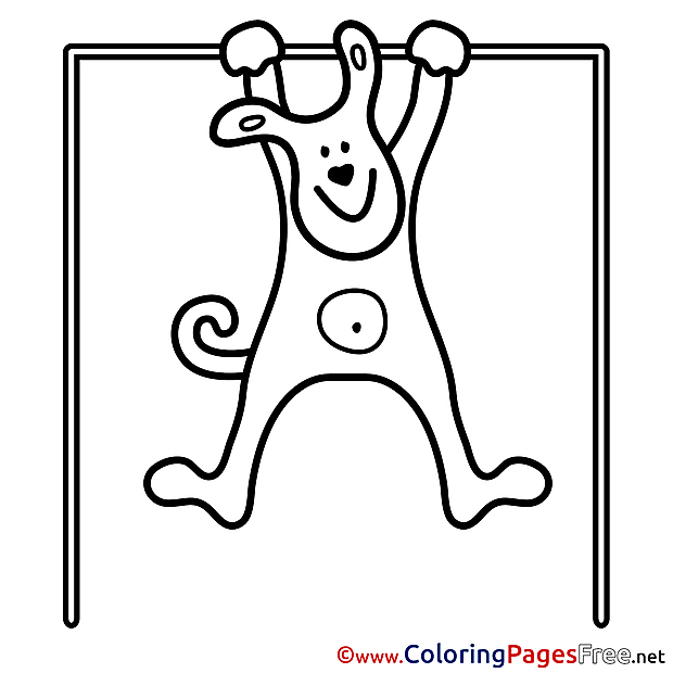 Pullups for Children free Coloring Pages