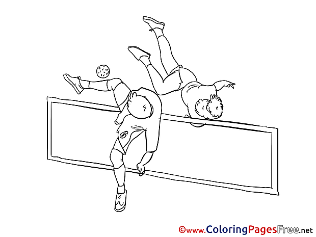 Sport Ball free Colouring Page download