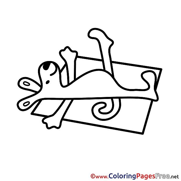 Sunbathe printable Coloring Sheets download