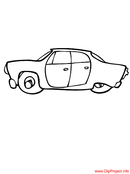 Car coloring pages pages