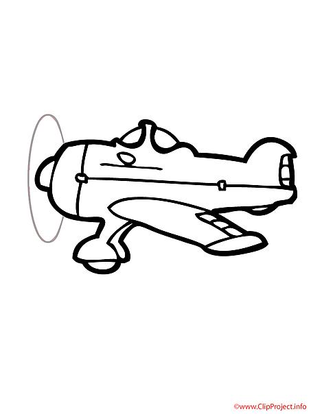 Plane coloring sheet