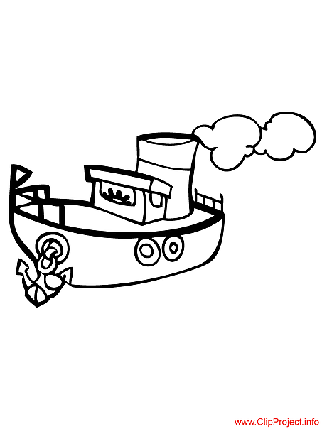 Ship to coloring