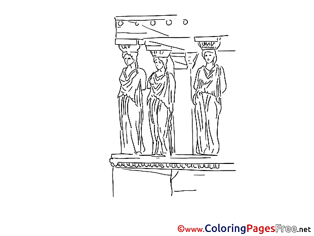Statues printable Coloring Sheets download