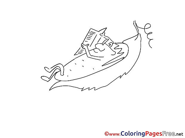 Cucumber for Children free Coloring Pages