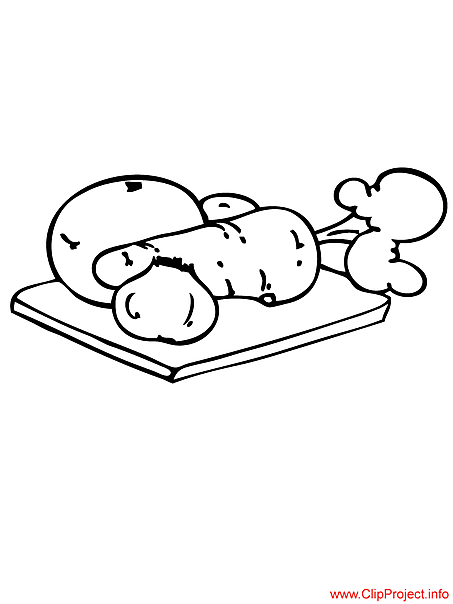 Vegetables coloring pages download for free