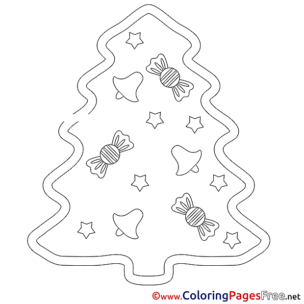 Merry Christmas Winter free Coloring Sheets