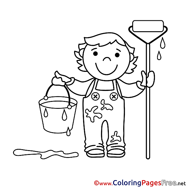 Coloring Pages for free Painter