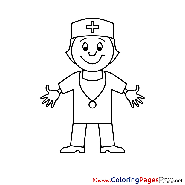 Doctor Coloring Pages for free