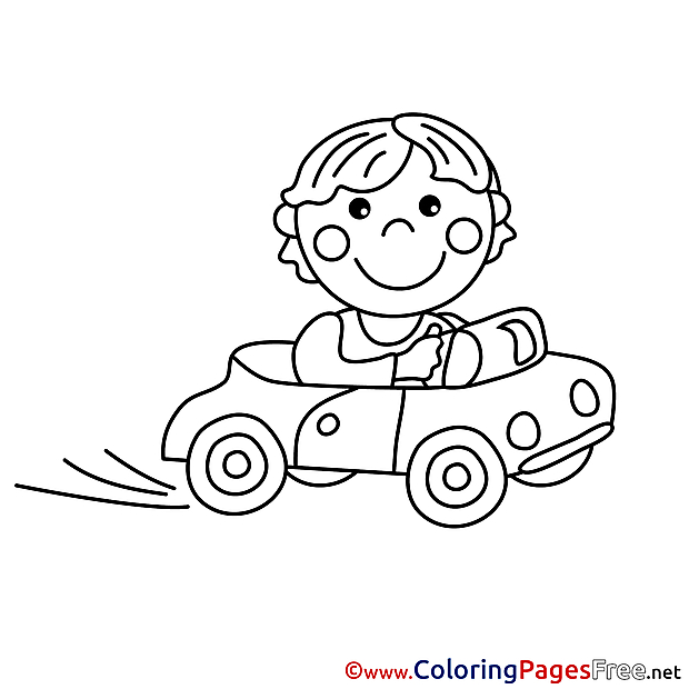Driver Coloring Sheets download free