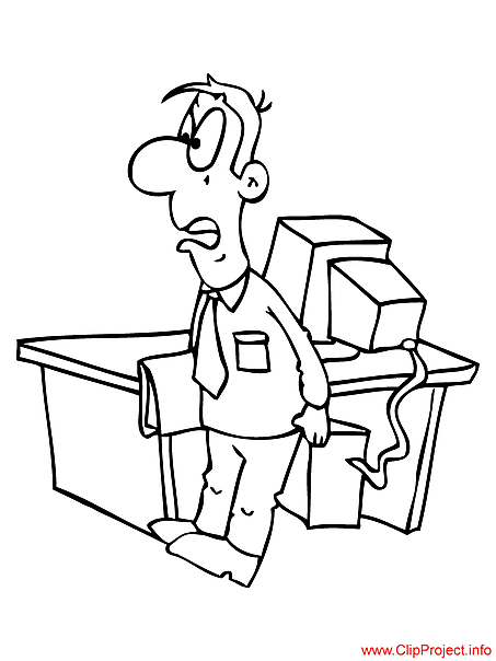 Office coloring page