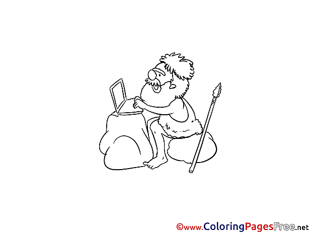 Programmer free printable Coloring Sheets