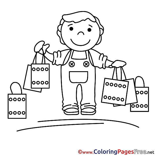 Purchase download printable Buyer Coloring Pages