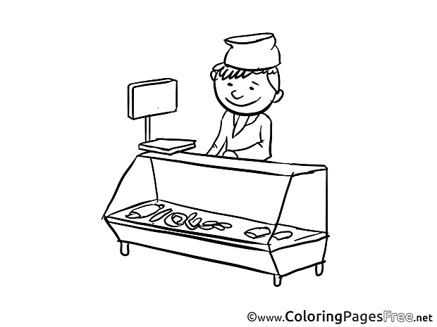 Seller free Colouring Page download