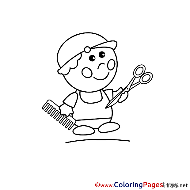 Stylist free printable Coloring Sheets