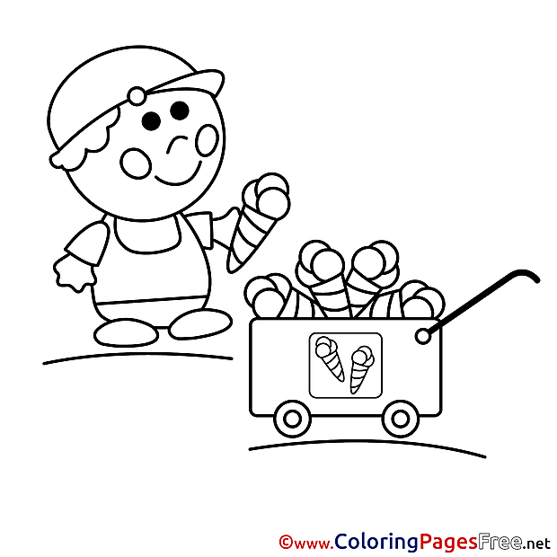 Vendor free printable Coloring Sheets