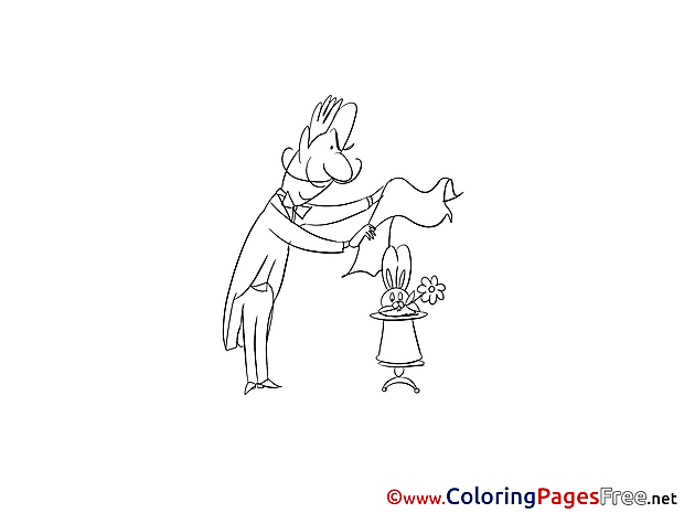 Wizard Coloring Pages for free