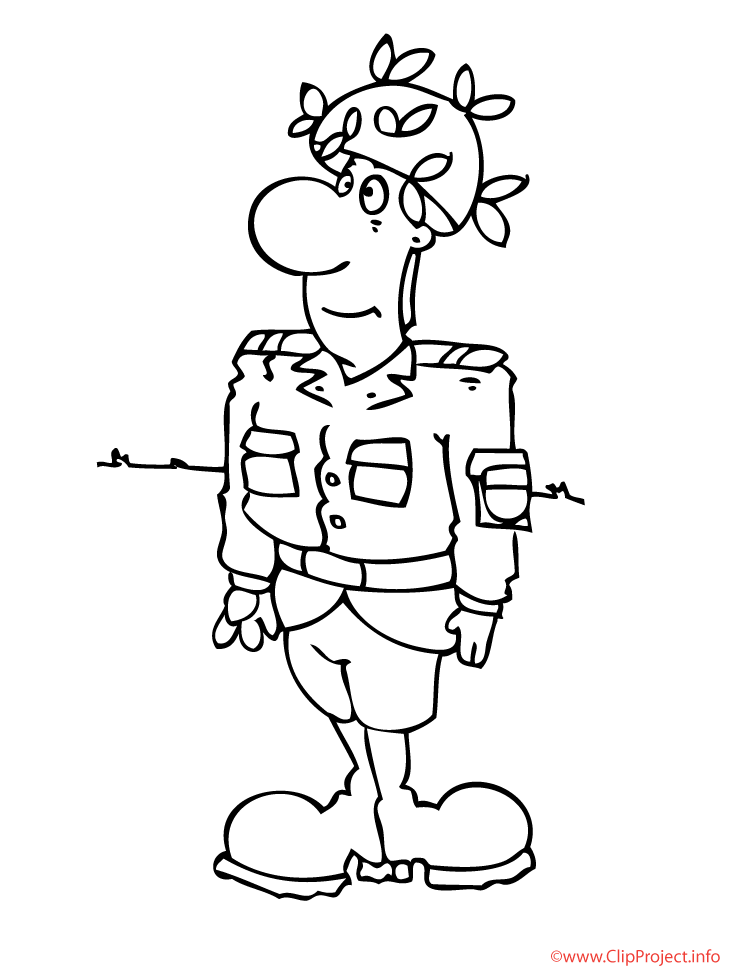 soldier coloring pages free - photo#27