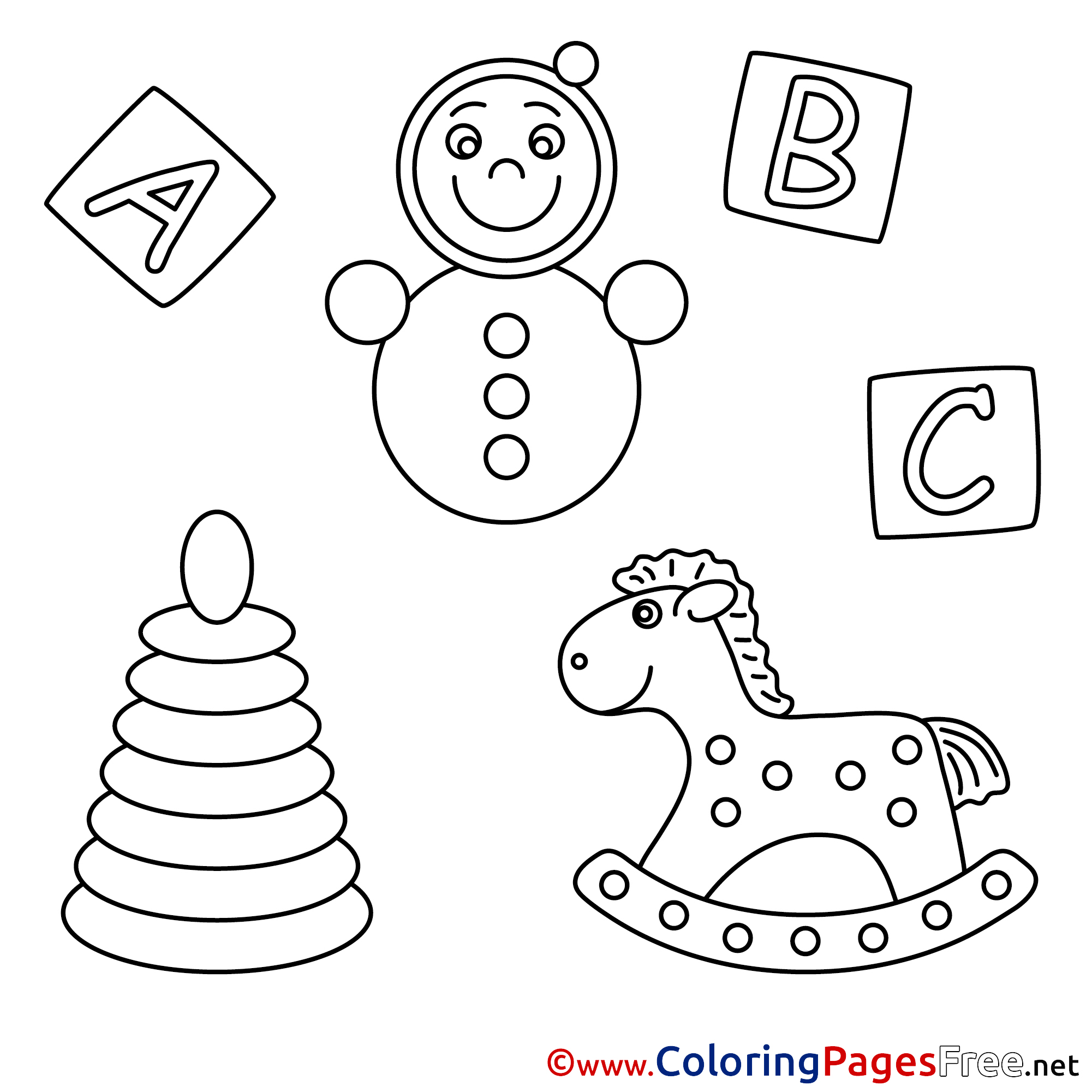 Coloring Pages For Kids Download