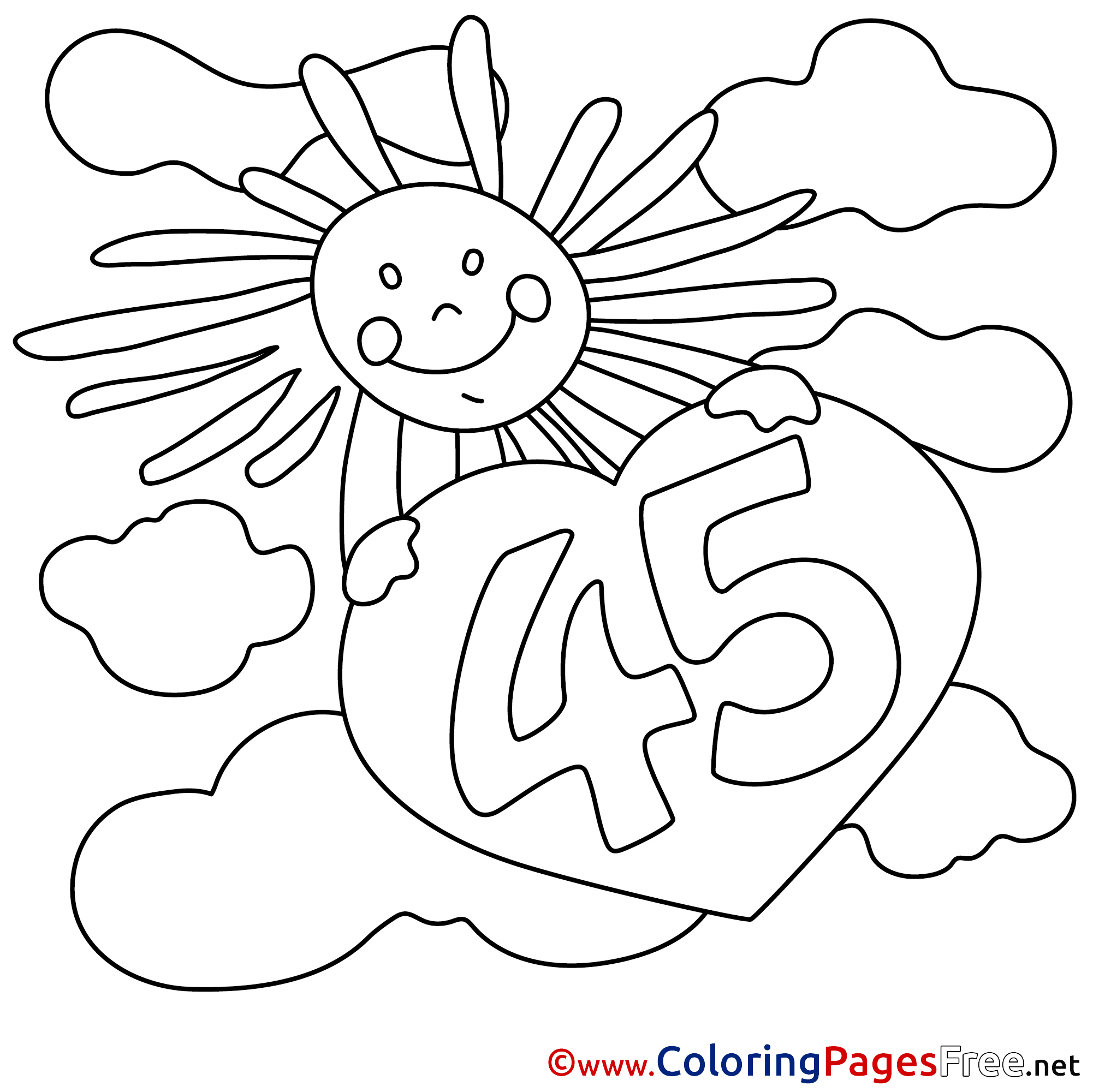 Sun And Moon Coloring Pages - GetColoringPages.com | 2001x2002
