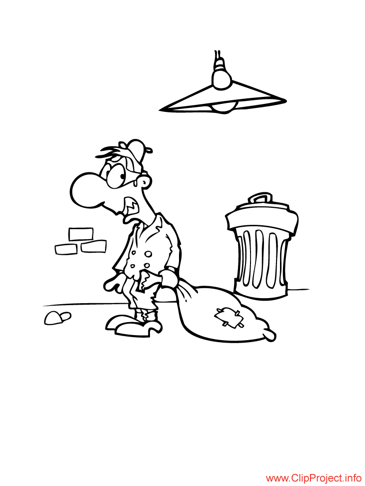 robber coloring pages - photo#15