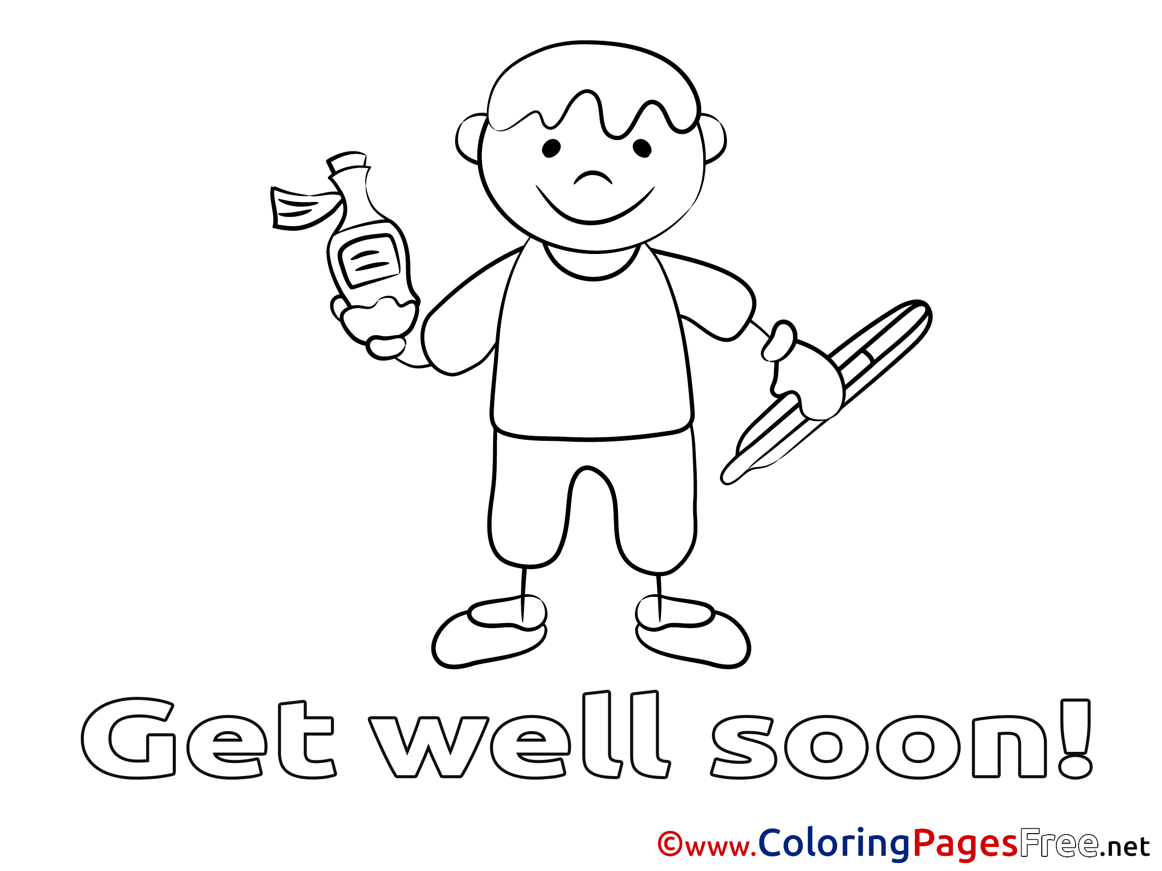 get well soon coloring pages christian corpedo com