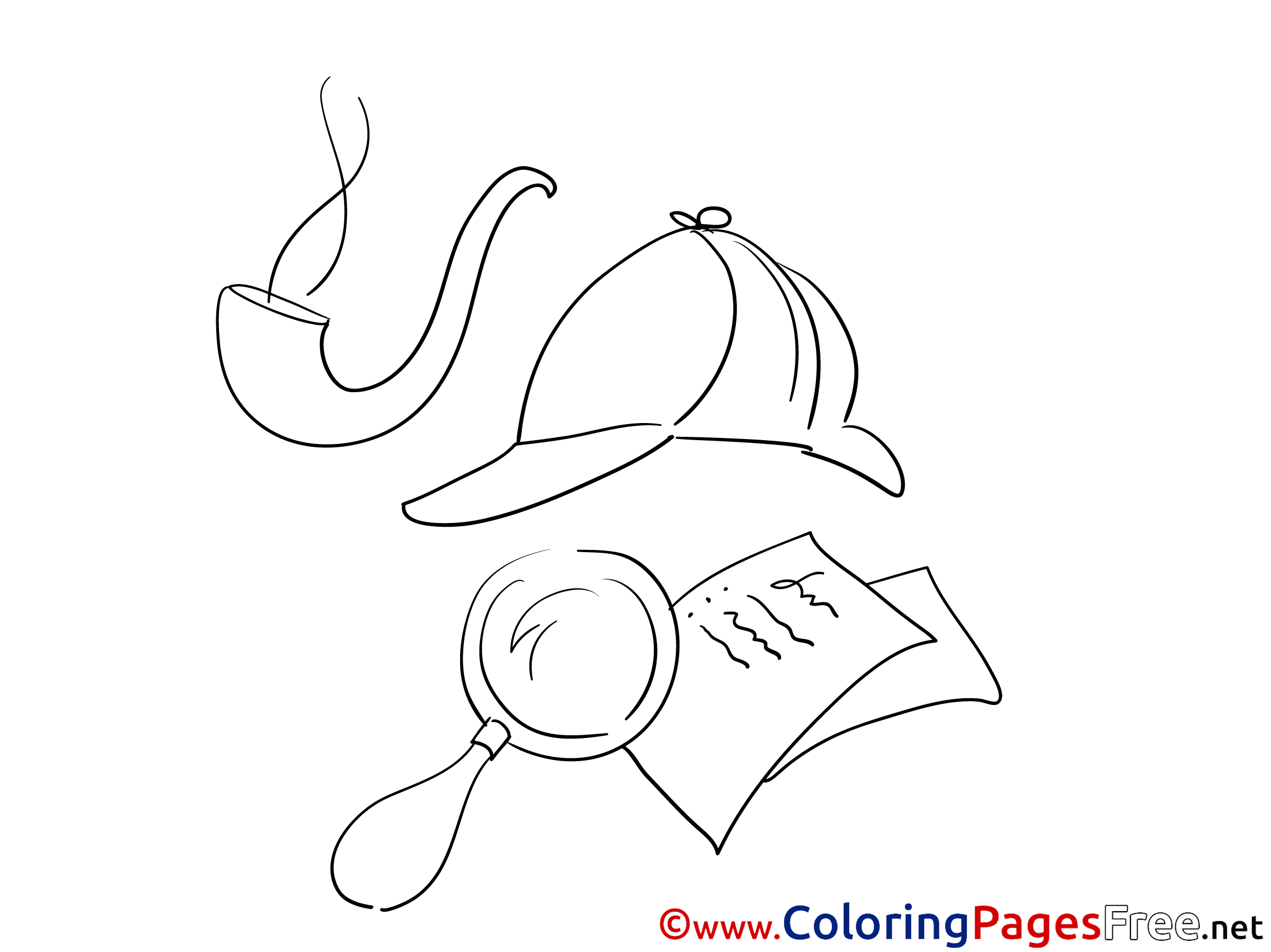coloring pages of a pipe - photo #25