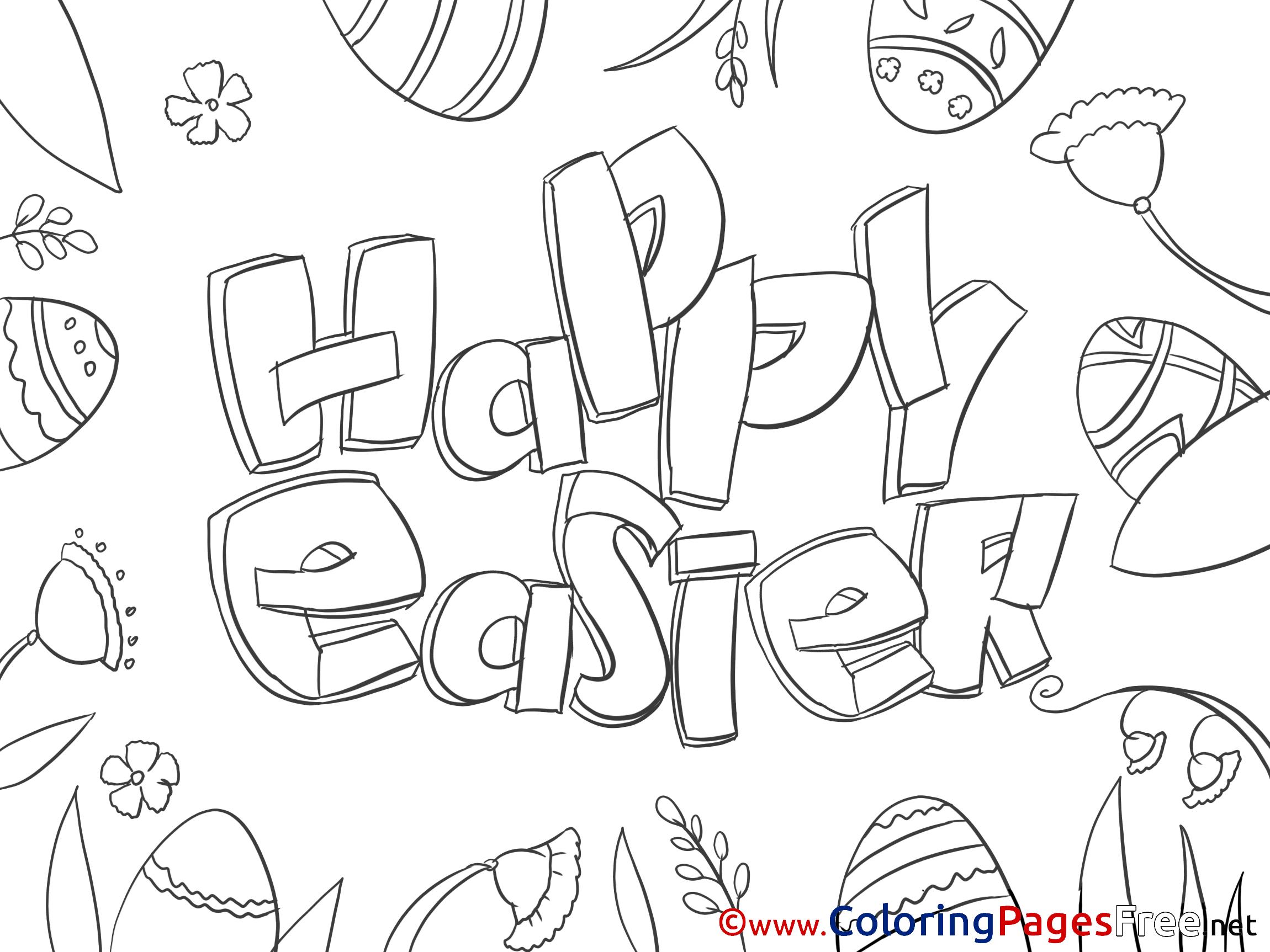 Joyous Children Celebration Coloring Page | 1725x2300