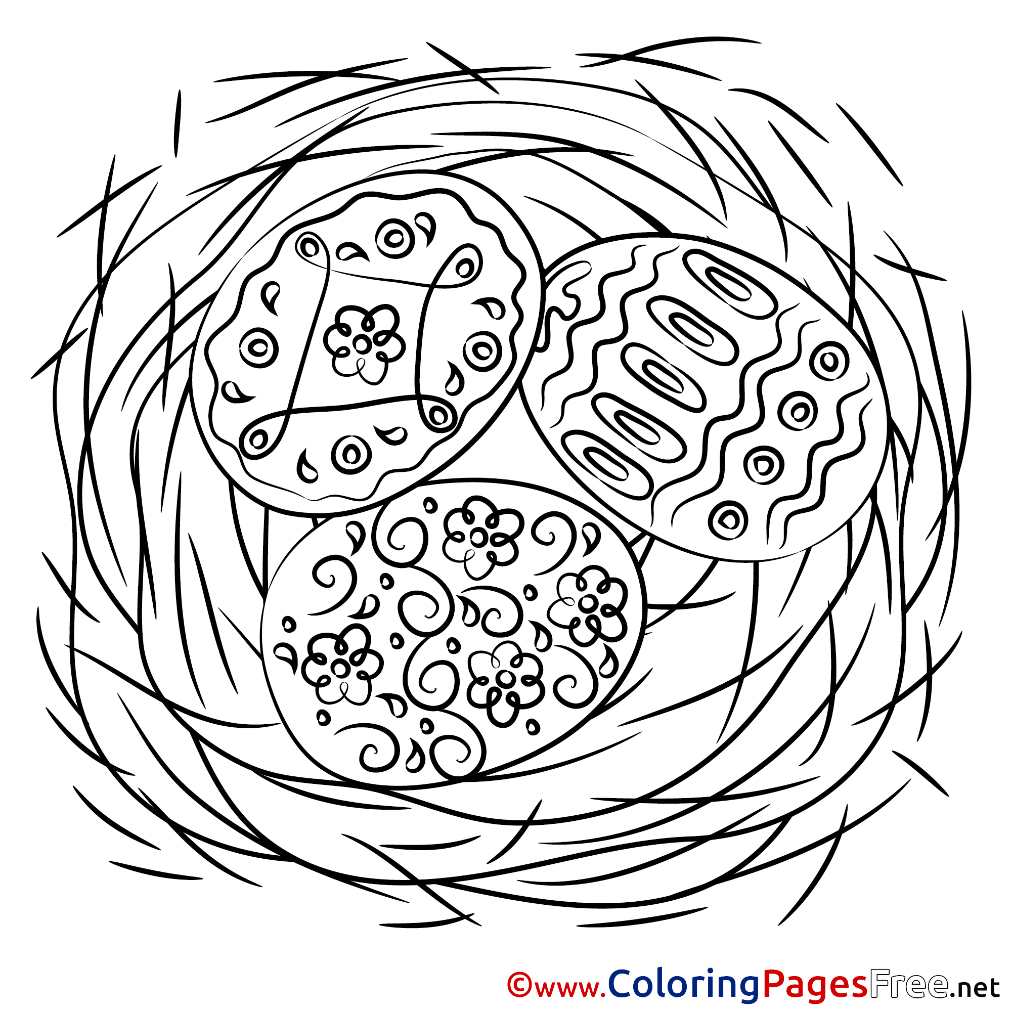 Passover Coloring Pages Easter