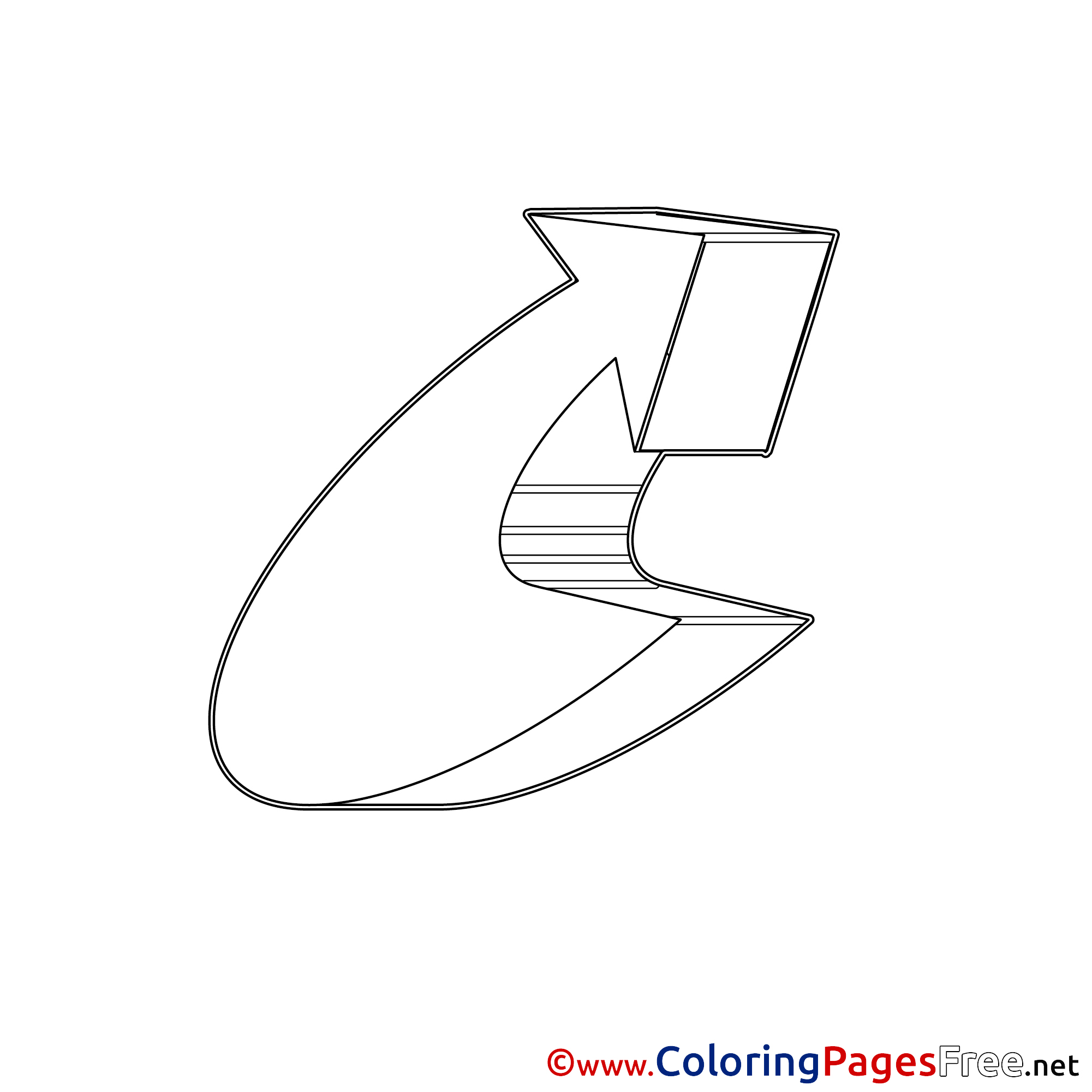 image regarding Arrow Printable known as Totally free Arrow printable Coloring Sheets