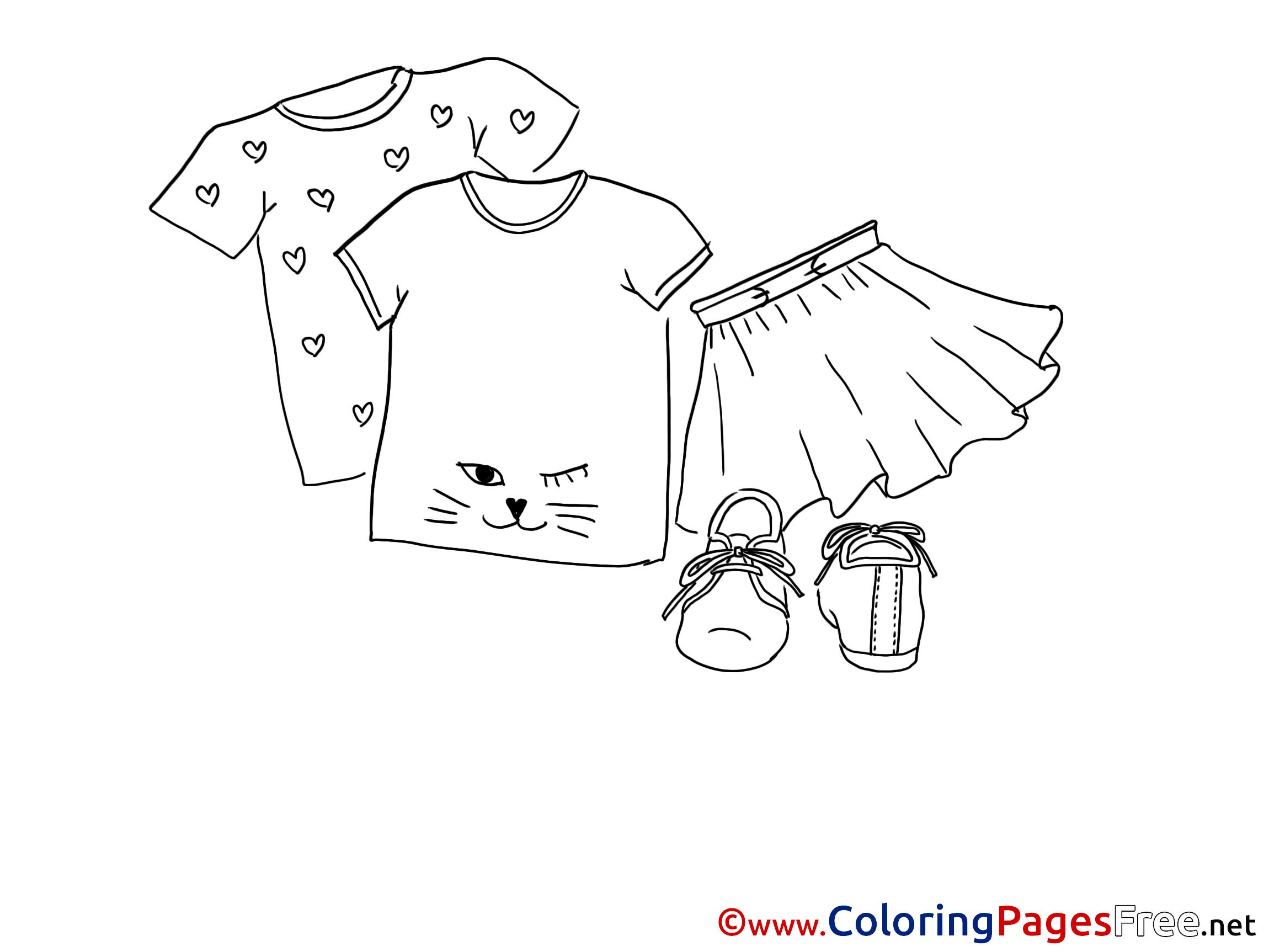 T shirt coloring pages - T Shirt Coloring Pages 46