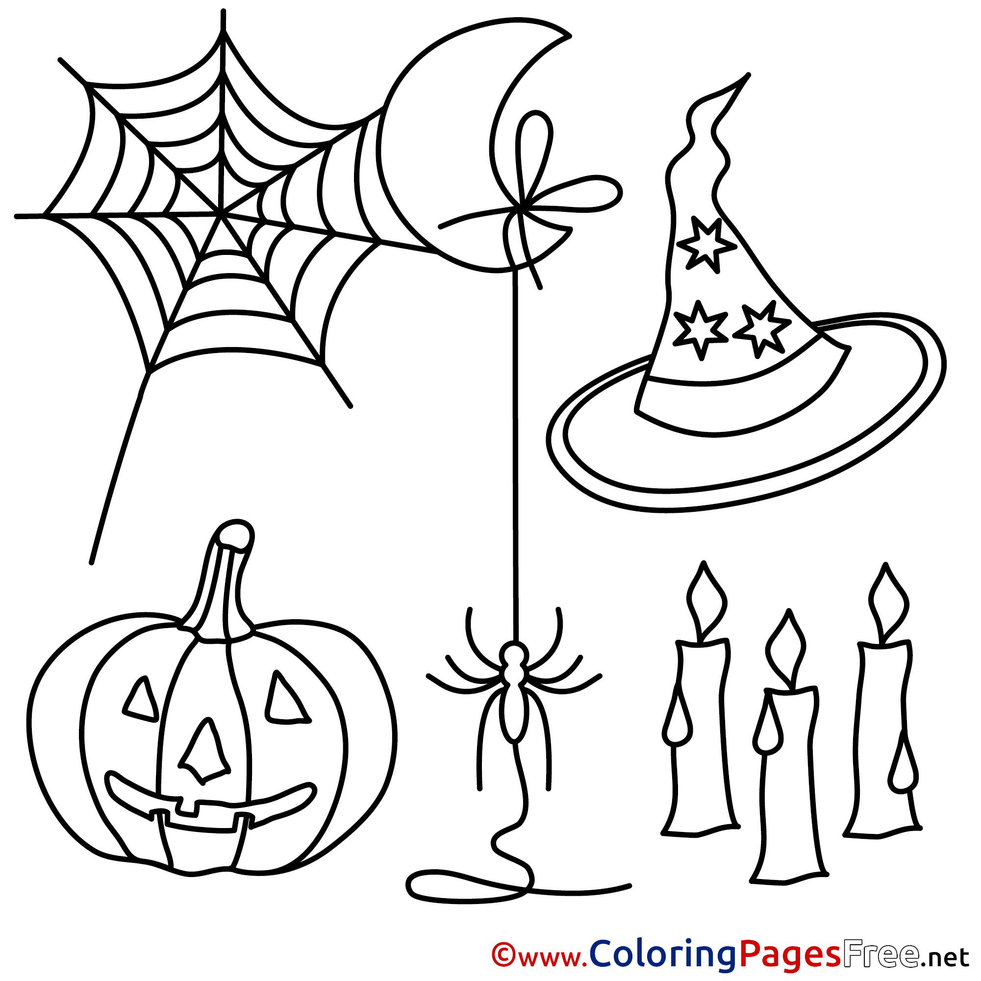 web spiders printable halloween coloring sheets web spiders printable halloween