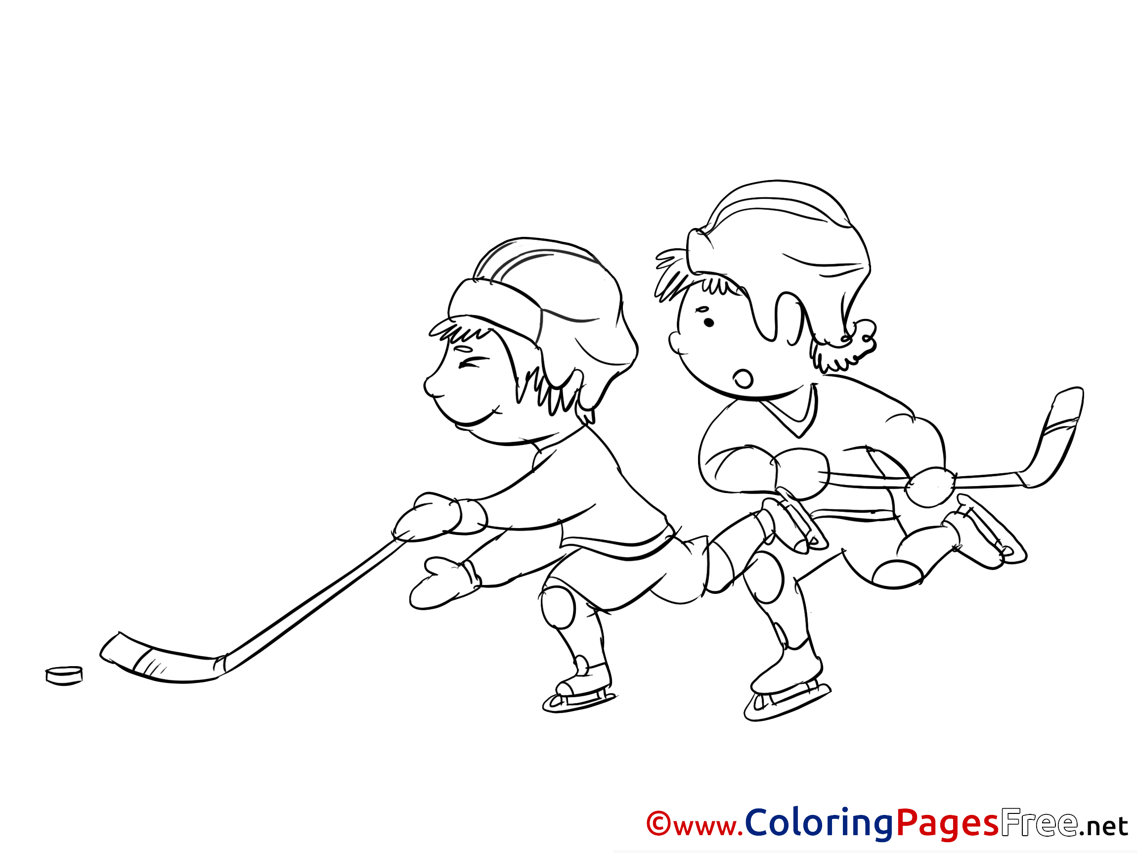 Coloring Pages Of Hockey Players - Coloring Home | 1725x2300