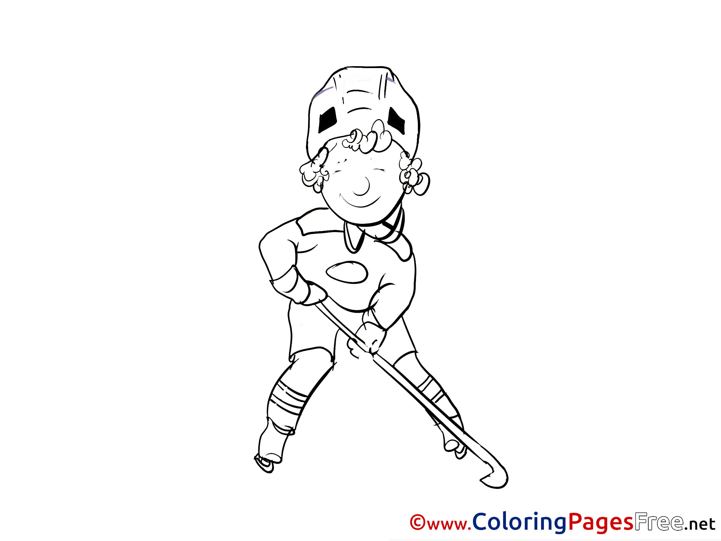 Hockey Coloring Pages - GetColoringPages.com | 1725x2300