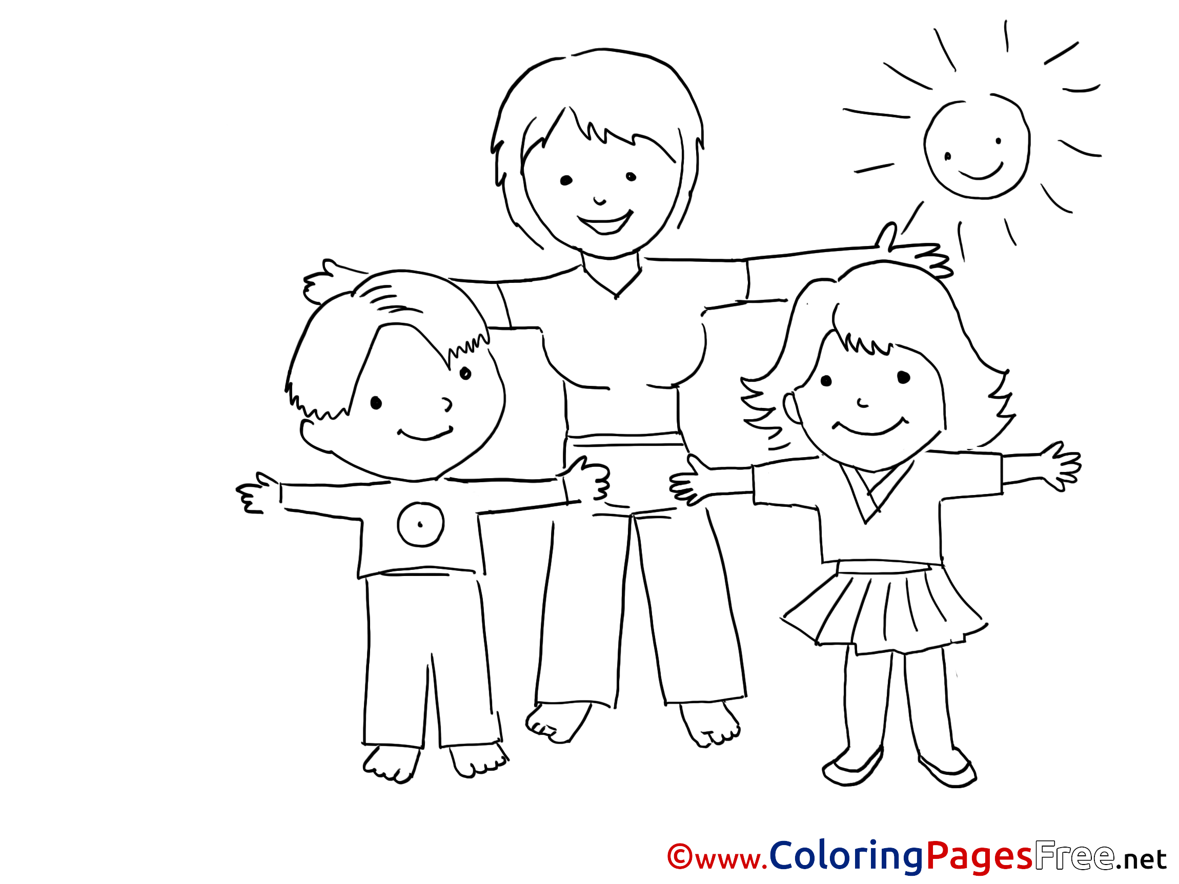 Free coloring pages for exercise - Free Coloring Pages For Exercise 2
