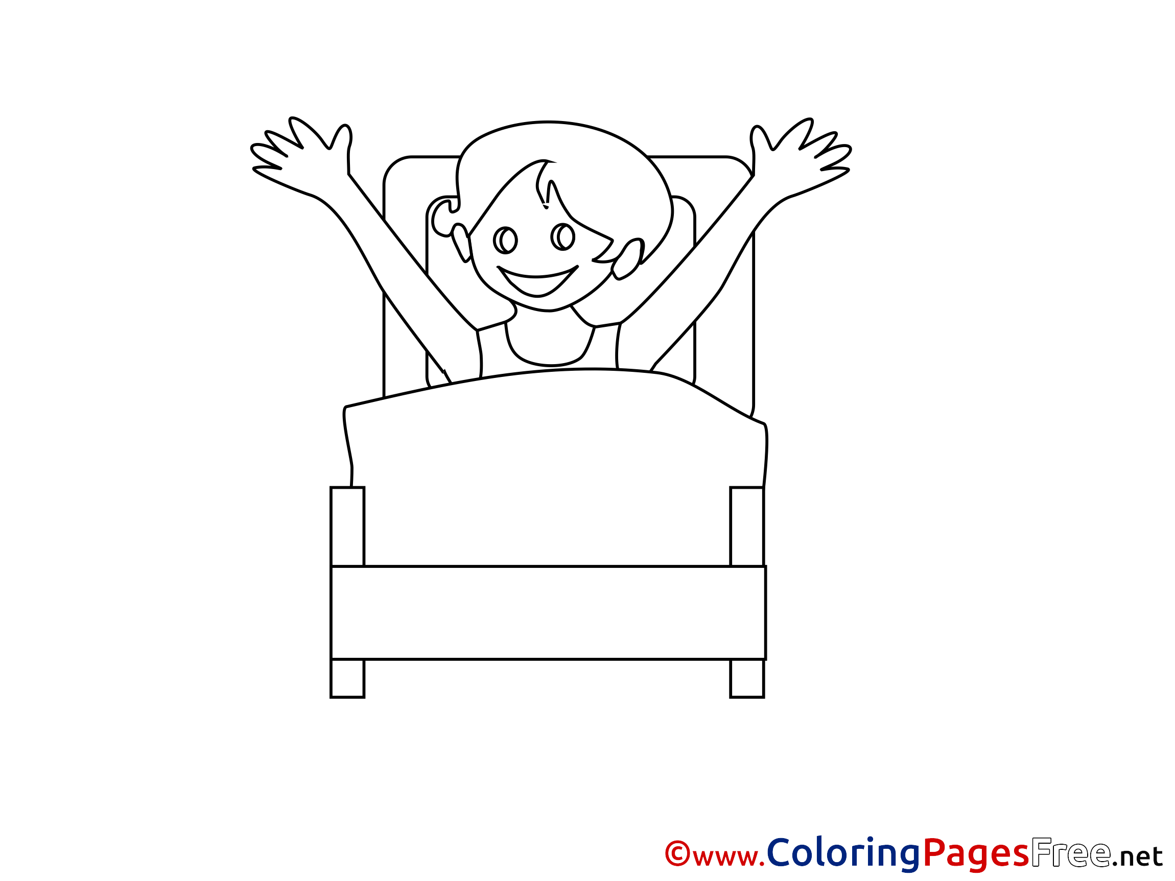 Hospital Ward Coloring Pages for free