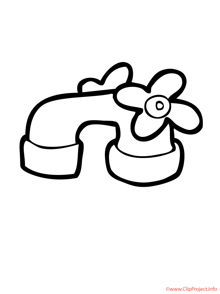 Tap coloring picture for free