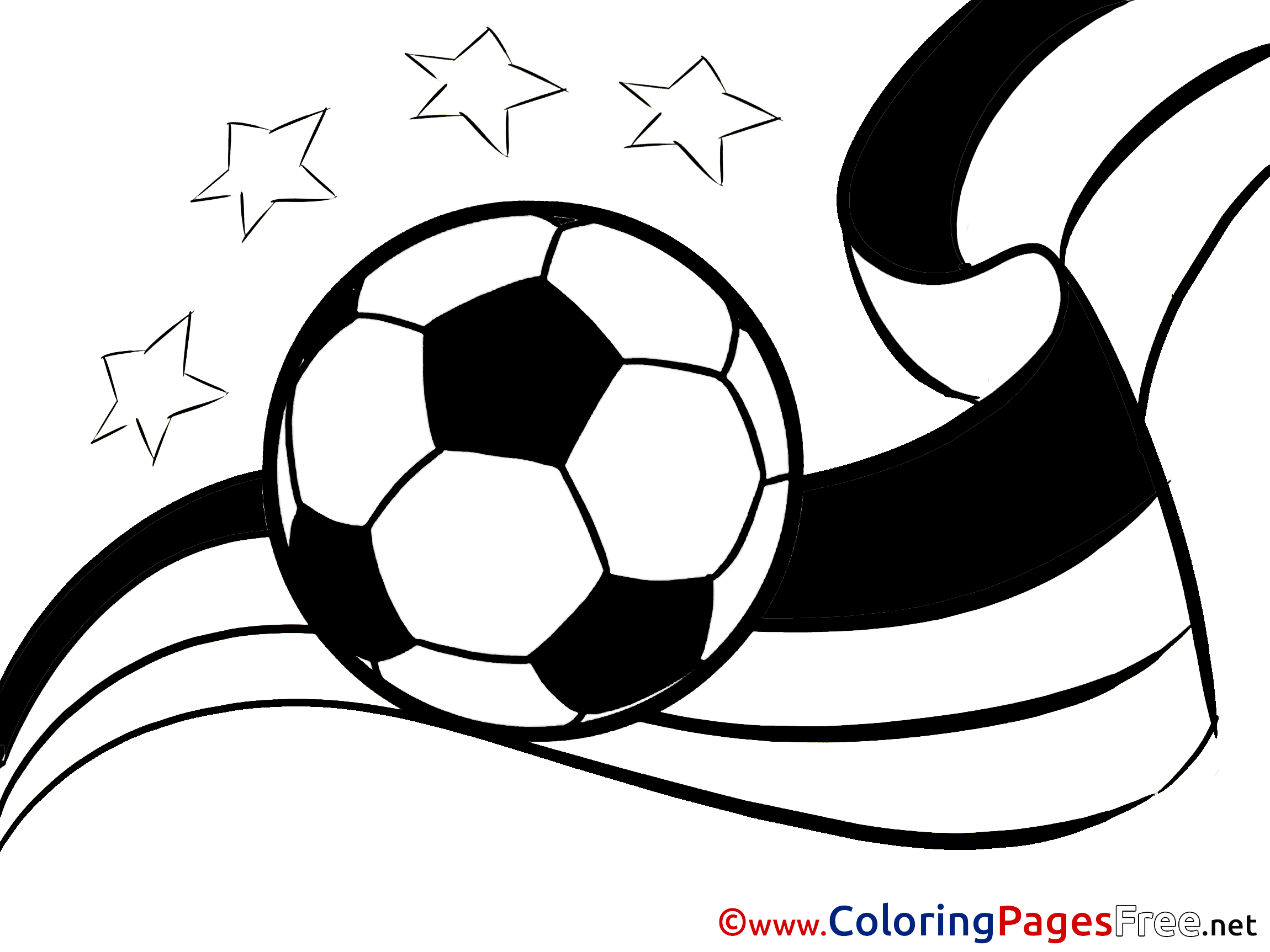 soccer flags coloring pages - photo#11