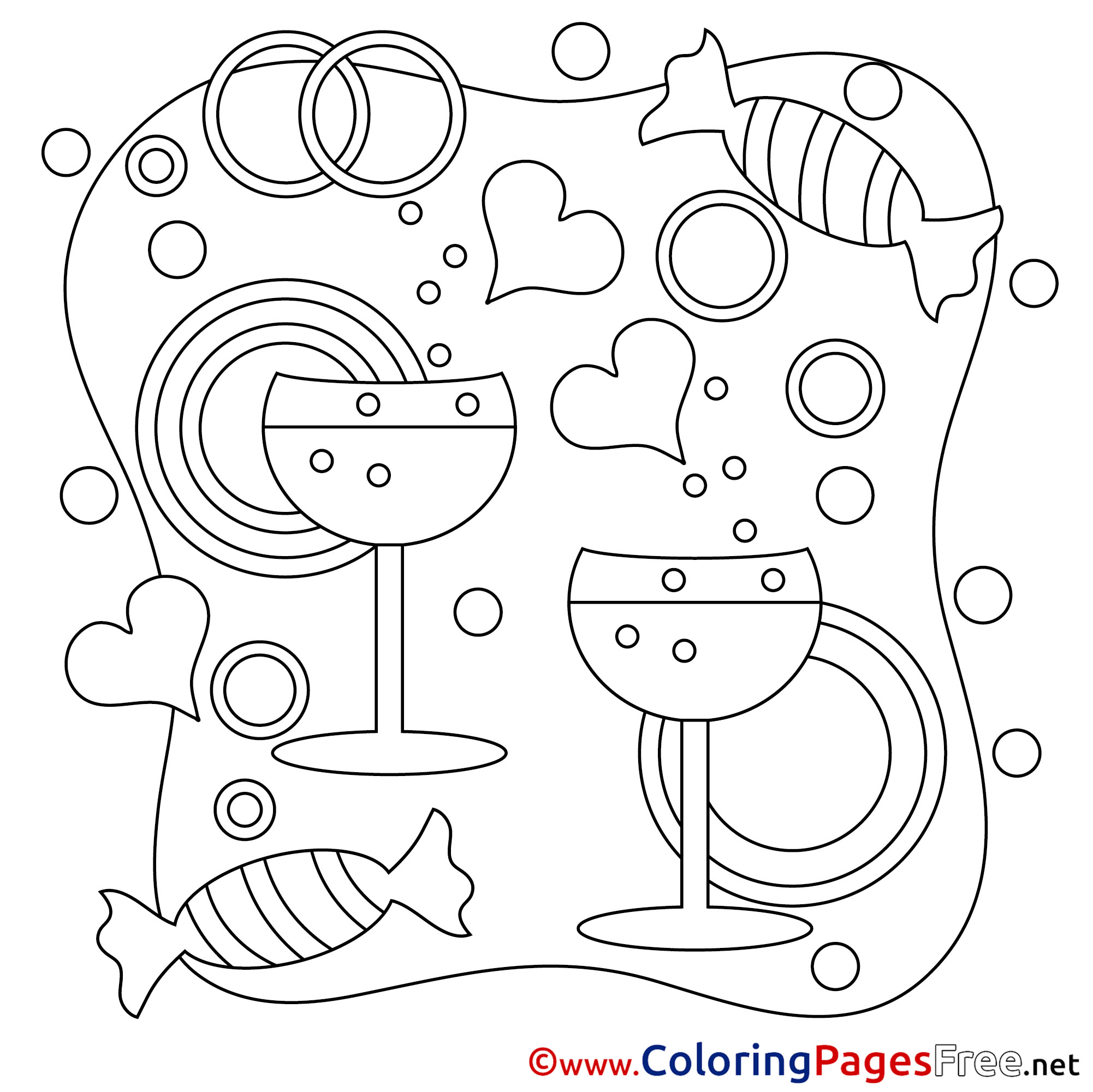 Valentines Day Coloring Pages - GetColoringPages.com   2001x2002