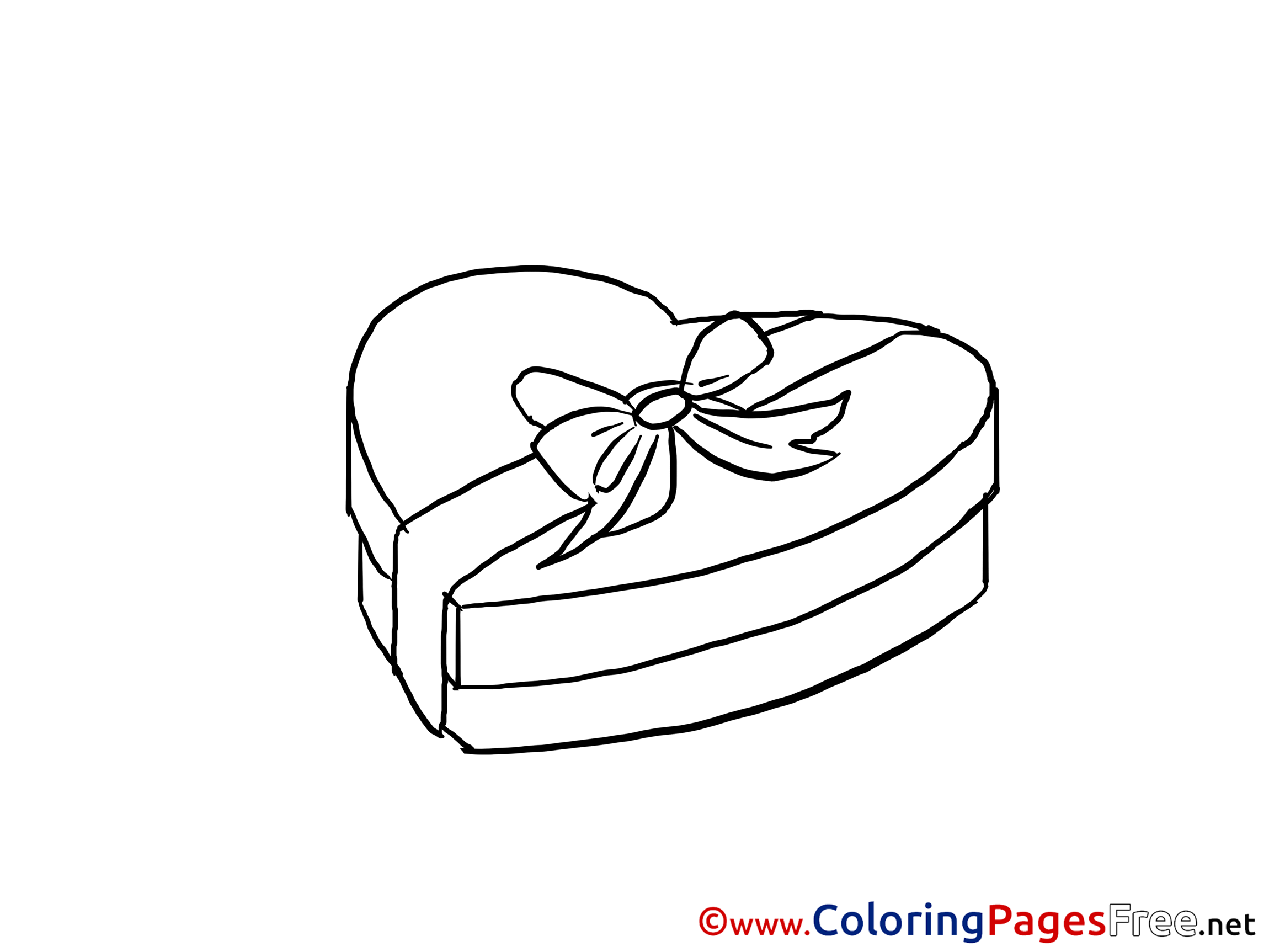 Chocolate Candies Printable Coloring Pages Valentine S Day