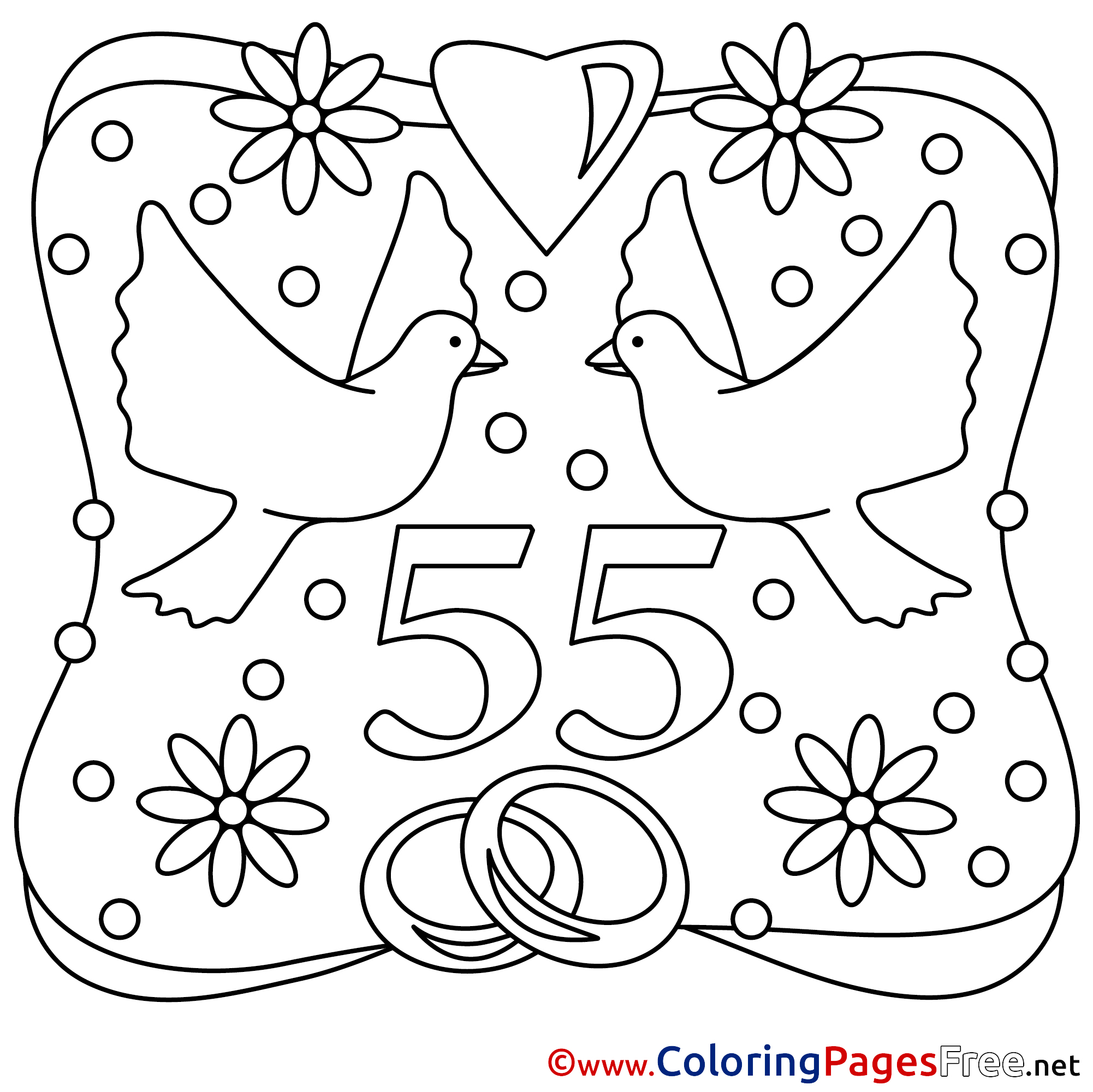 Printable coloring sheets wedding - Printable Coloring Sheets Wedding 50